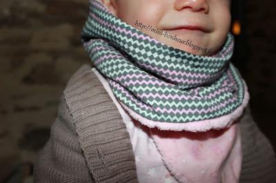 snood, couture, enfant, diy, mini bonheur, la perle des loisirs