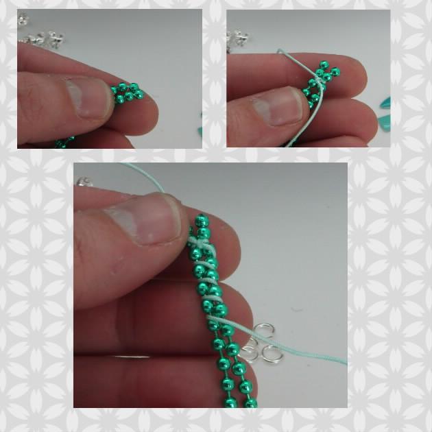 tutoriel, DIY, pocahontas, collier, printemps, vert, la perle des loisirs