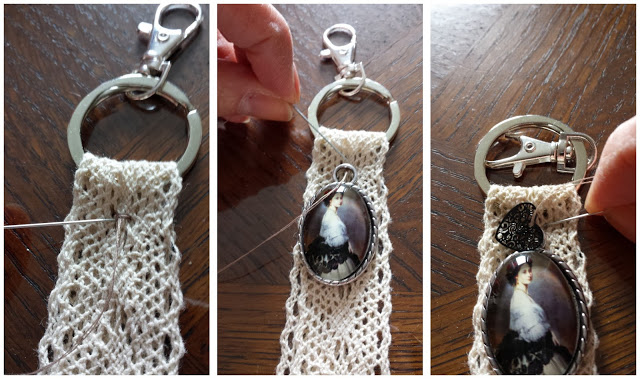 DIY, tutoriel, bijou de sac, porte clés, la perle des loisirs