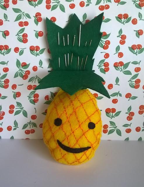 ananas, DIY, l'atelier de la malie, la perle des loisirs