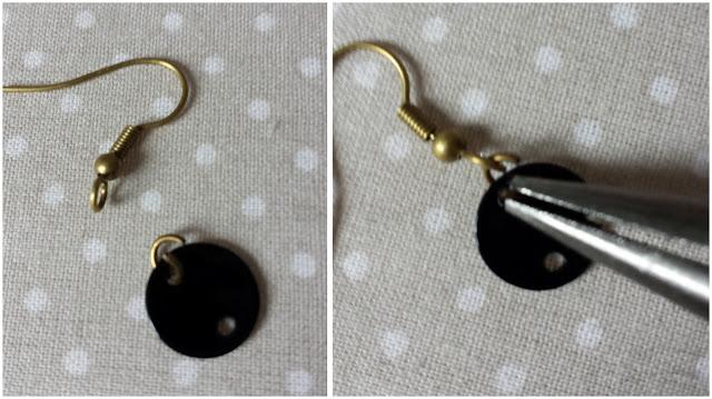 boucles d'oreilles, DIY, tutoriel, bijoux, la marquise en tutu, la perle des loisirs