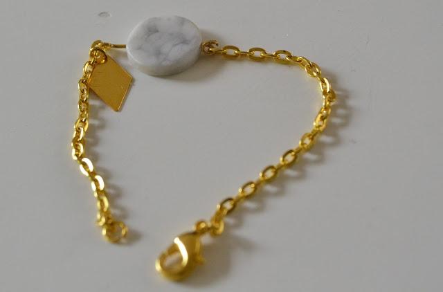 bracelet, bijoux, marbre, DIY, mummyslittlegirl, la perle des loisirs