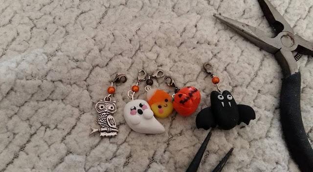DIY, my little quail, halloween, bracelet, bijoux, tutoriel, perle des loisirs, fimo