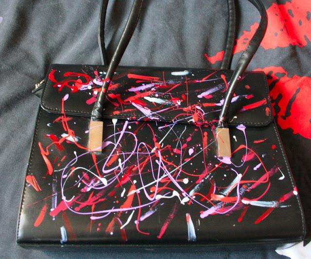DIY,sac, vernis, aurora borealis, ambassadrice, perle des loisirs