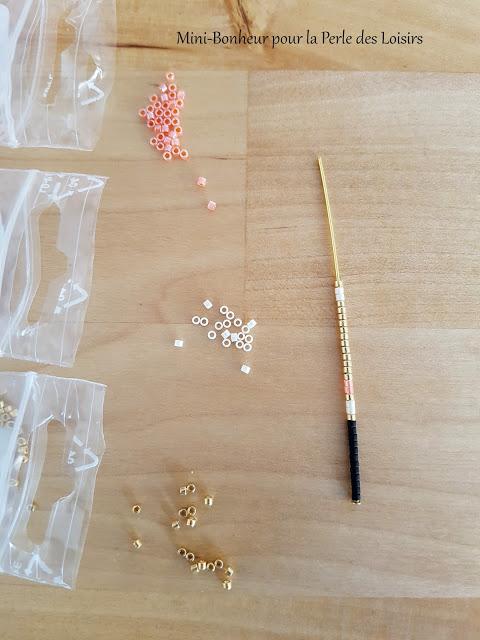 collier, navajo, bijoux, mini bonheur, DIY, perle des loisirs