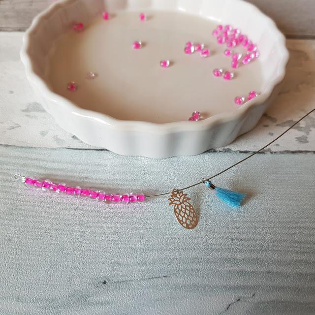 bracelet vitaminée-DIY-tutoriel-bonnie parker creation-perle des loisirs